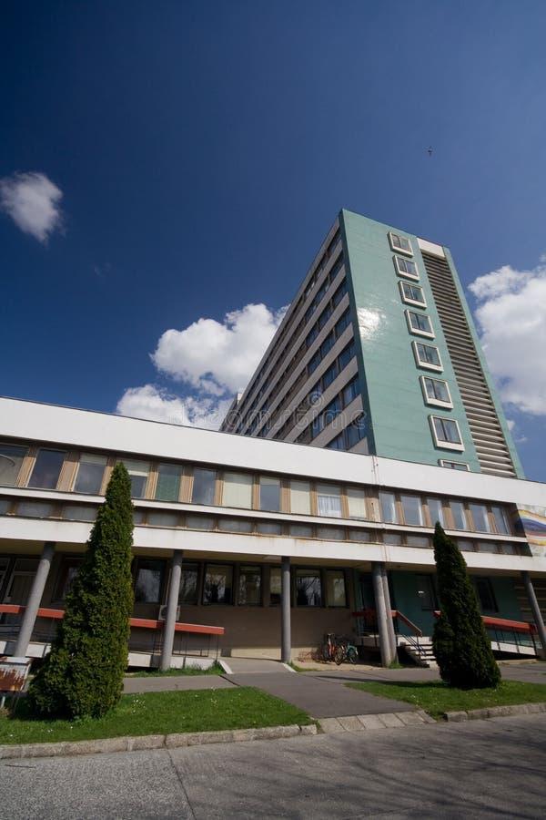 现代的医院 免版税库存照片