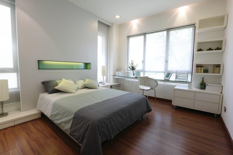 现代的卧室 免版税图库摄影