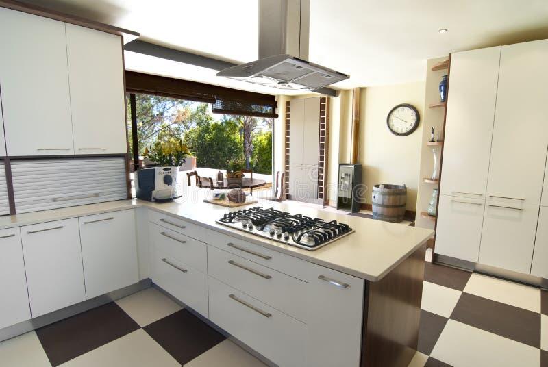 现代的厨房 免版税图库摄影