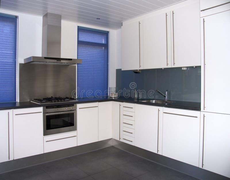 现代的厨房 库存照片