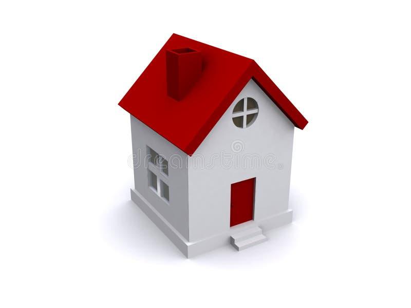 现代的房子 库存例证