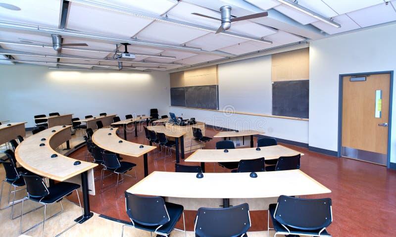 现代的教室 库存图片