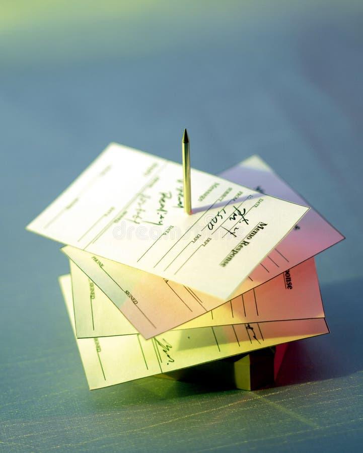 现代的条款 免版税库存照片