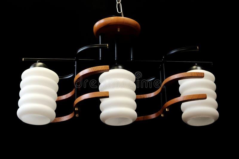 现代的枝形吊灯 免版税库存图片