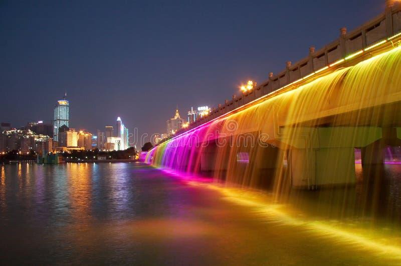 现代的桥梁 免版税图库摄影