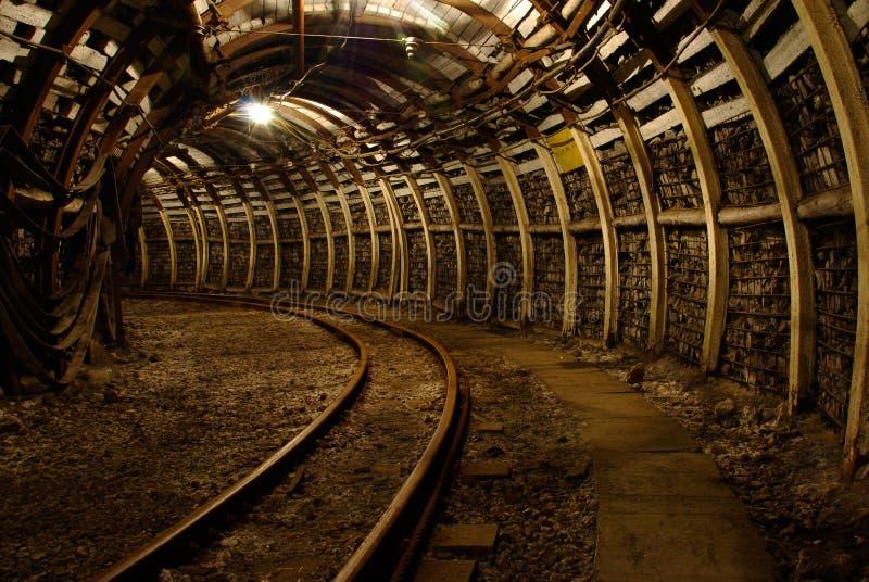 现代的煤矿 库存照片