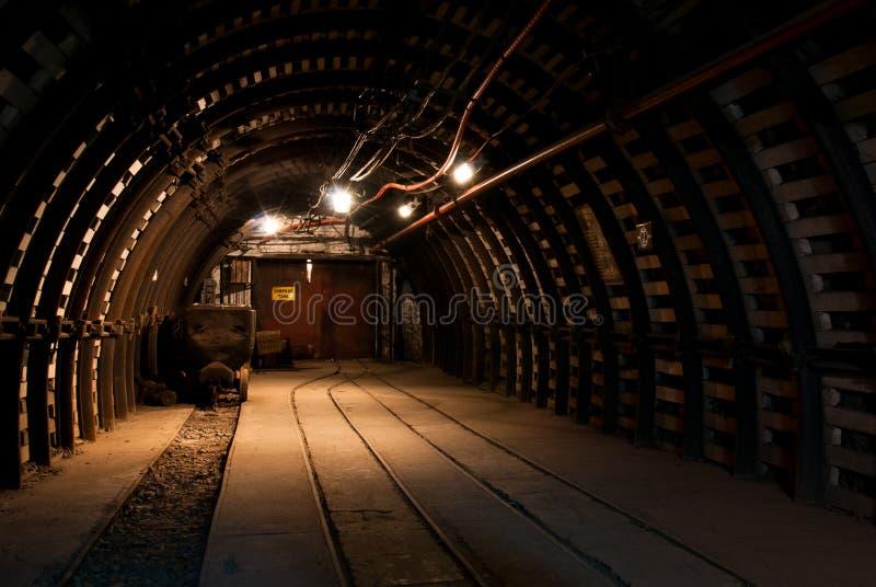 现代的煤矿 图库摄影