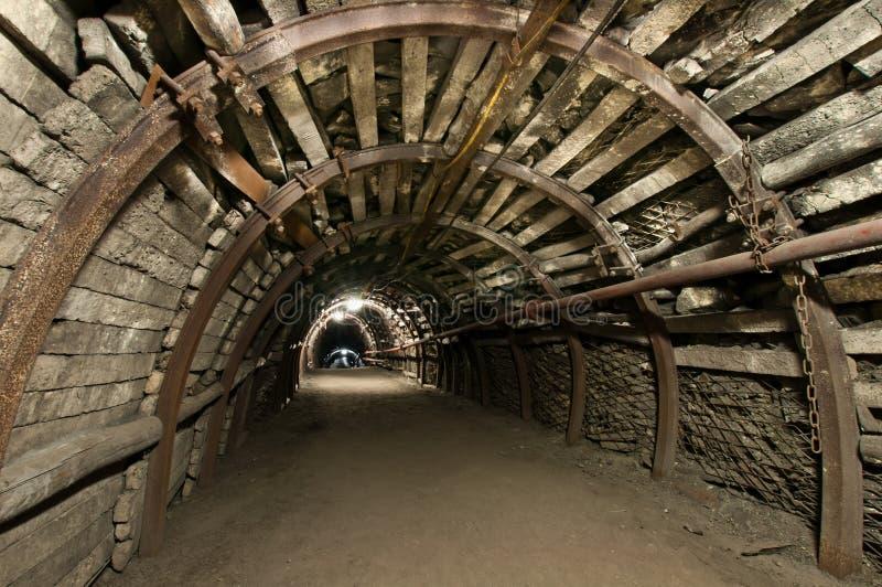 现代的煤矿 库存图片