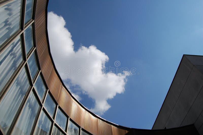 现代的结构 图库摄影