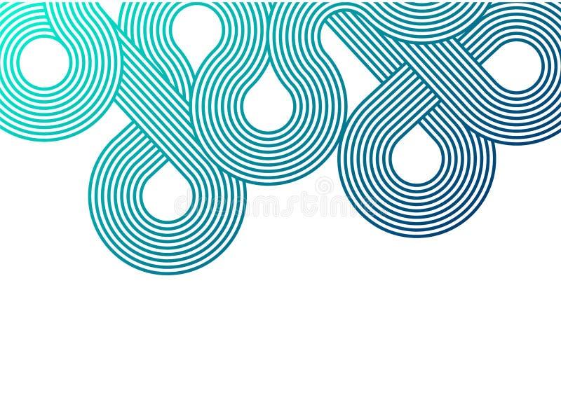 现代的背景 时髦抽象梯度背景 安置文本 Minimalistic设计 梯度样式 皇族释放例证