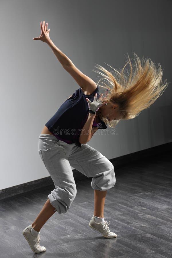 现代的舞蹈演员 图库摄影