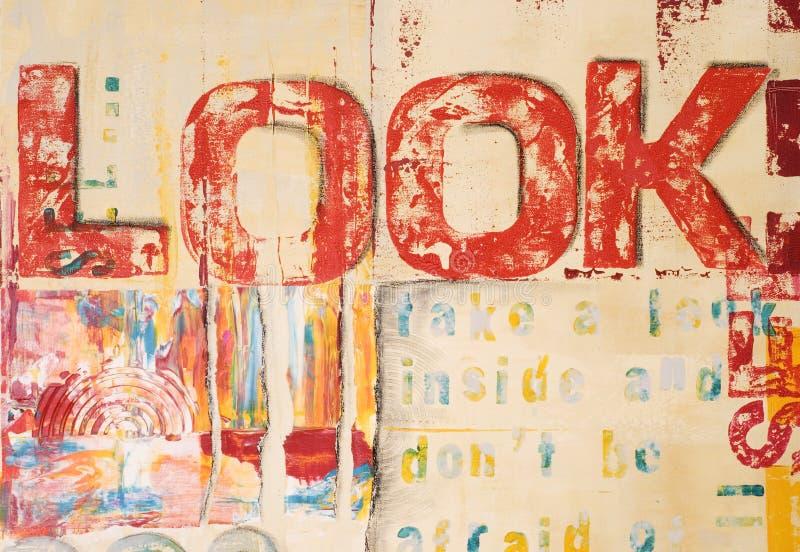 现代的艺术品 向量例证