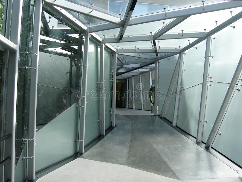 现代的走廊 免版税库存照片