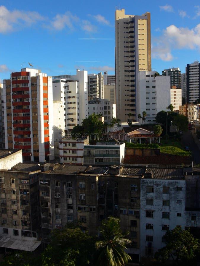 现代的都市风景 免版税库存照片