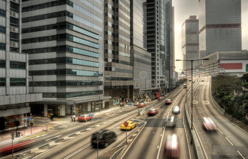 现代的都市风景 库存照片