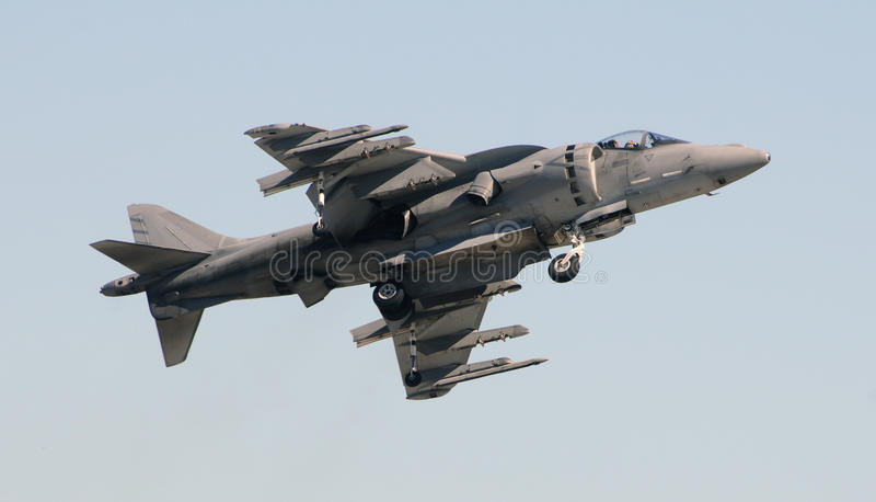 现代的jetfighter 库存照片