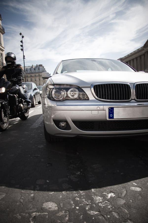 现代碰撞用汽车的前面 库存图片