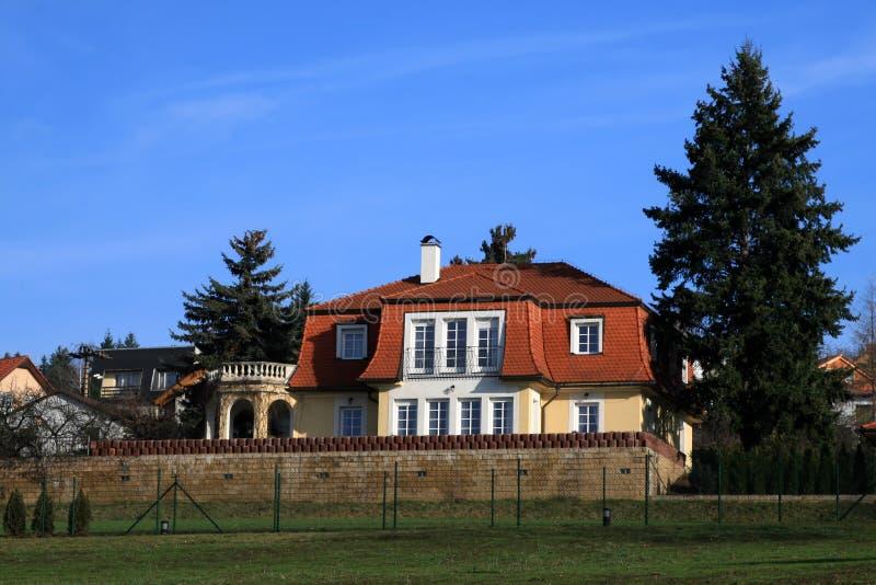 现代系列的房子 库存照片