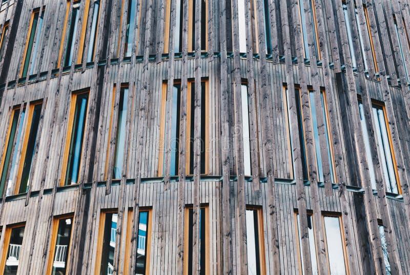 现代结构和门面-建筑学在南特-法国的  库存图片