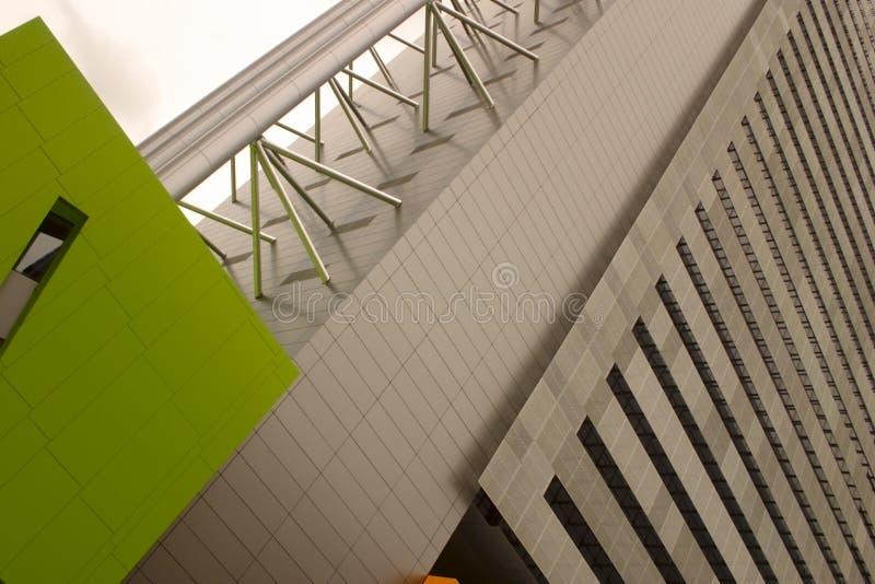 现代结构 免费图库摄影