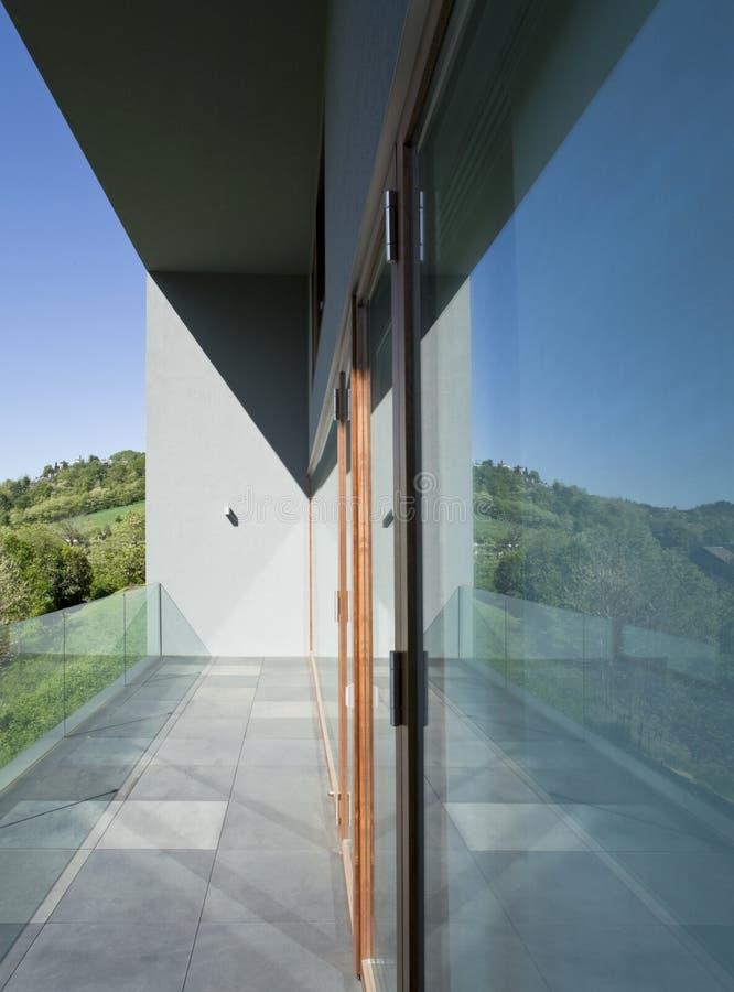 现代美丽的房子 免版税图库摄影
