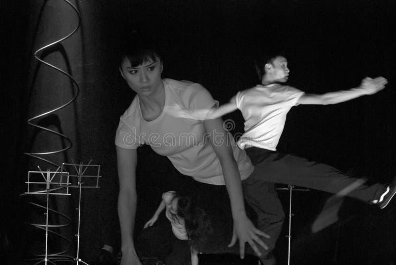 现代舞蹈法国的Hip Hop 库存照片