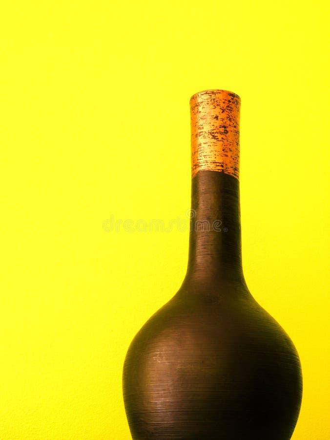 现代花瓶 库存照片