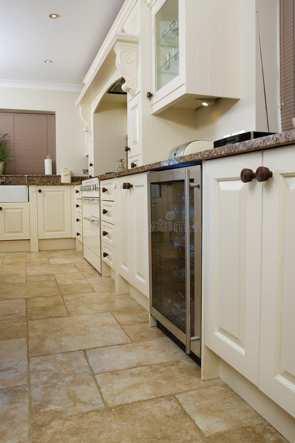 现代设计员的厨房 库存照片