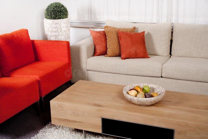 现代设计的家具 图库摄影