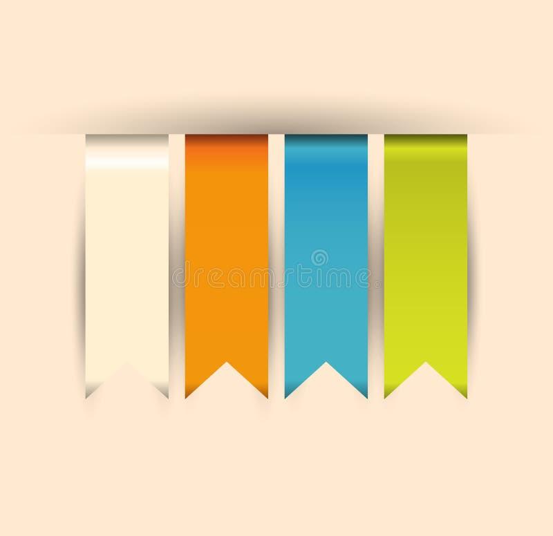 现代软的颜色设计模板/可以是使用的fo 向量例证