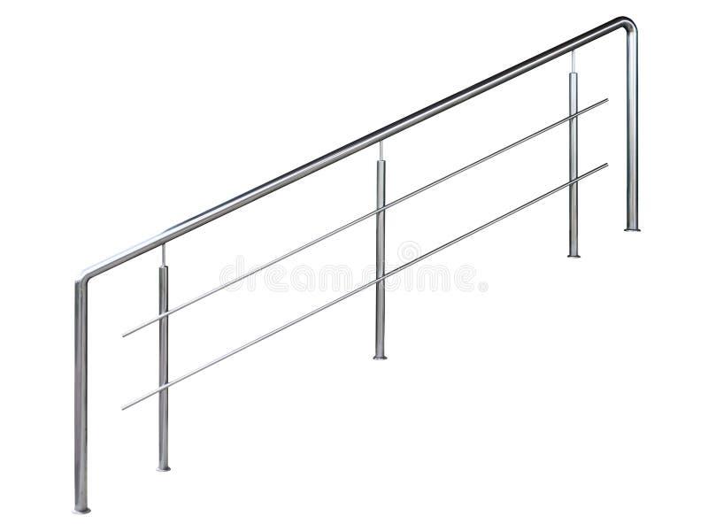 现代铁扶手栏杆 皇族释放例证
