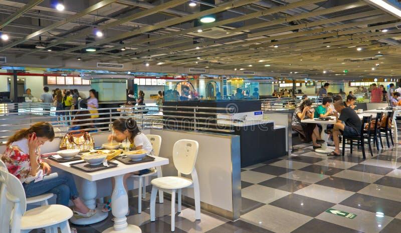 现代餐馆 免版税图库摄影