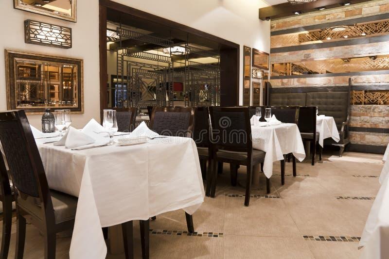 现代餐馆 免版税库存图片