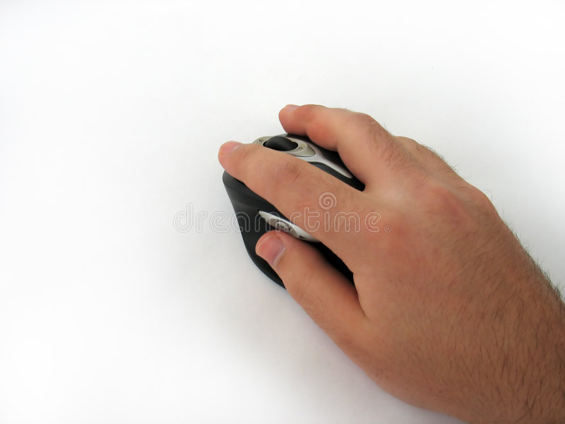 现代鼠标 库存图片