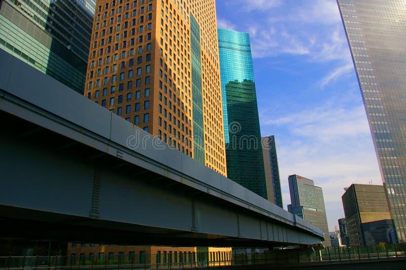 现代architecure的大厦 图库摄影