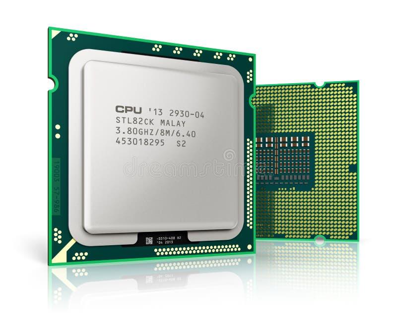 现代CPUs 皇族释放例证