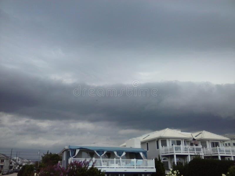 现在得到更加紧密OC的风暴 库存图片