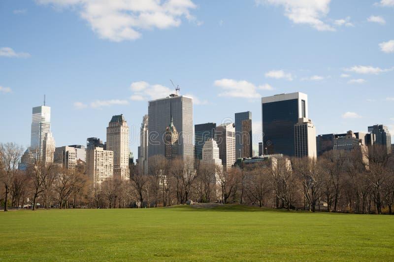 现在约克市,中央公园 免版税库存图片