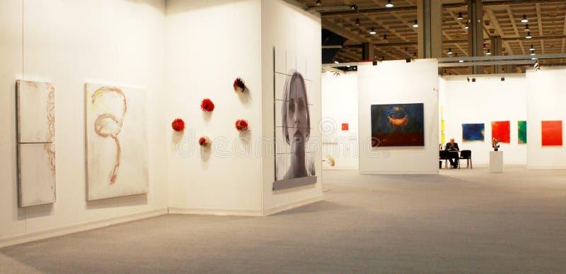 现在Miart艺术2010年 免版税图库摄影