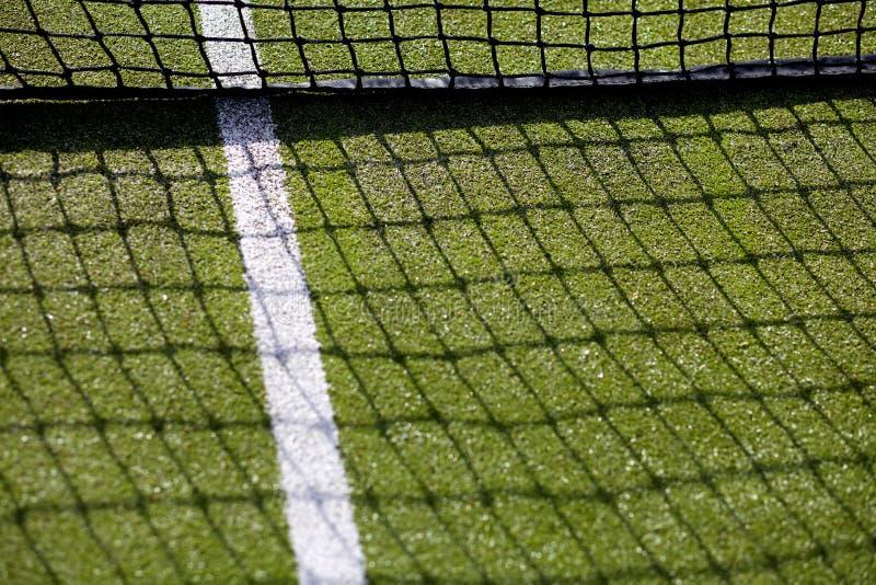现场净照片体育运动网球 库存图片