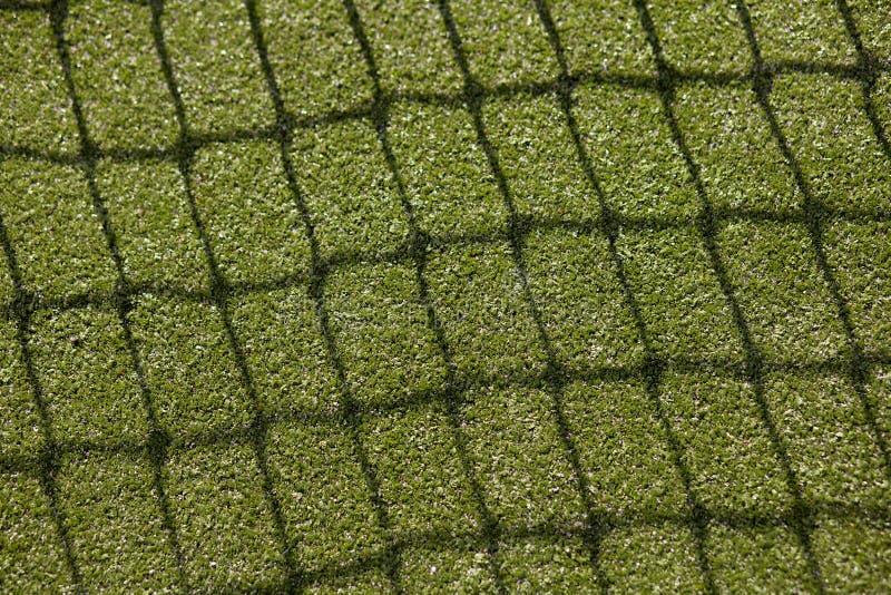 现场地球净额表面网球 免版税库存照片