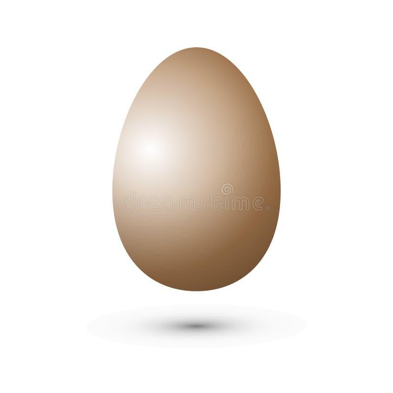 蛋传染媒介象 r 现实传染媒介鸡鸡蛋 皇族释放例证