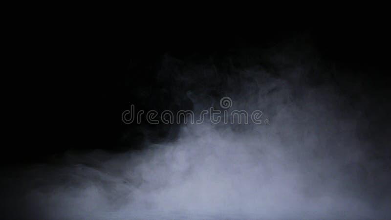 现实干冰烟云雾覆盖物 图库摄影