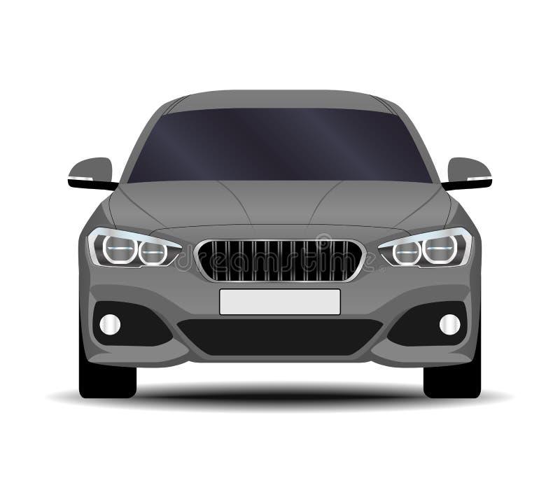 现实汽车 斜背式的汽车 库存例证
