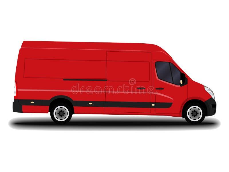 现实货物搬运车 免版税库存图片