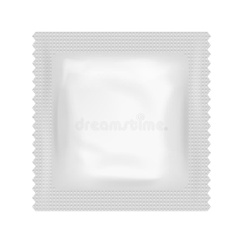 现实避孕套食物医学流程组装被隔绝的象设计模板传染媒介例证 皇族释放例证