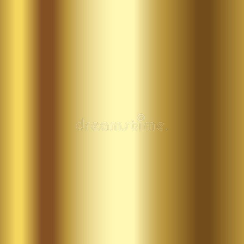 现实金子纹理 金箔纹理背景 向量 库存例证