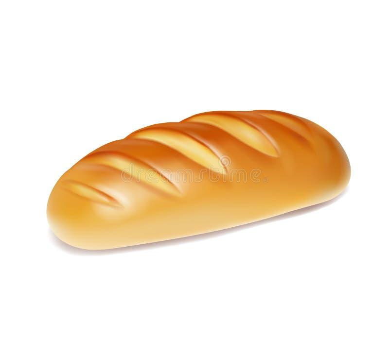 现实面包被隔绝的面包店象 库存例证