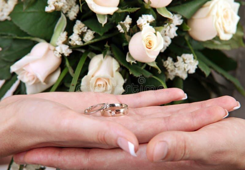 现有量敲响婚礼 免版税图库摄影