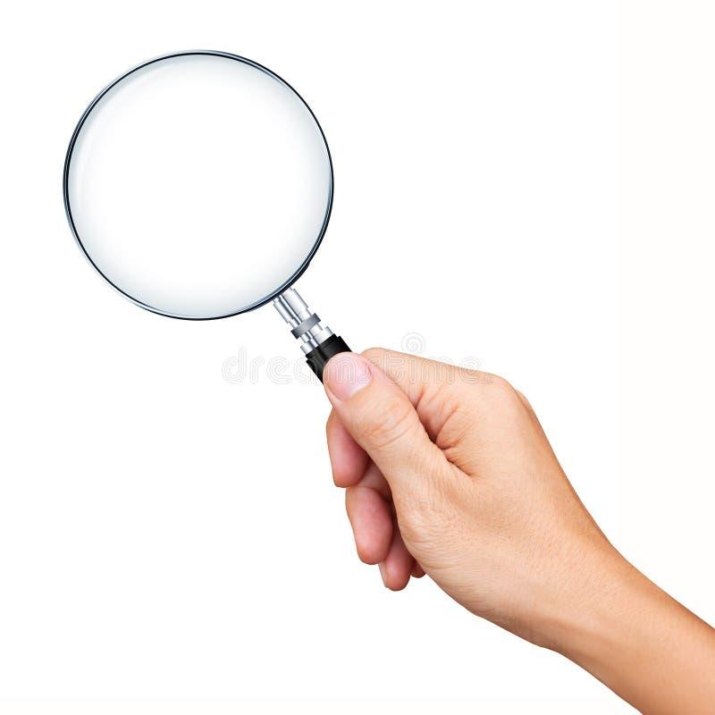 现有量查出的藏品放大镜 皇族释放例证